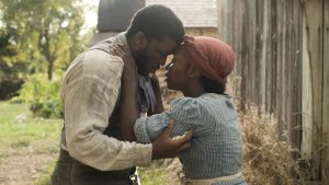 Zackary Momoh and Cynthia Erivo in 'Harriet'