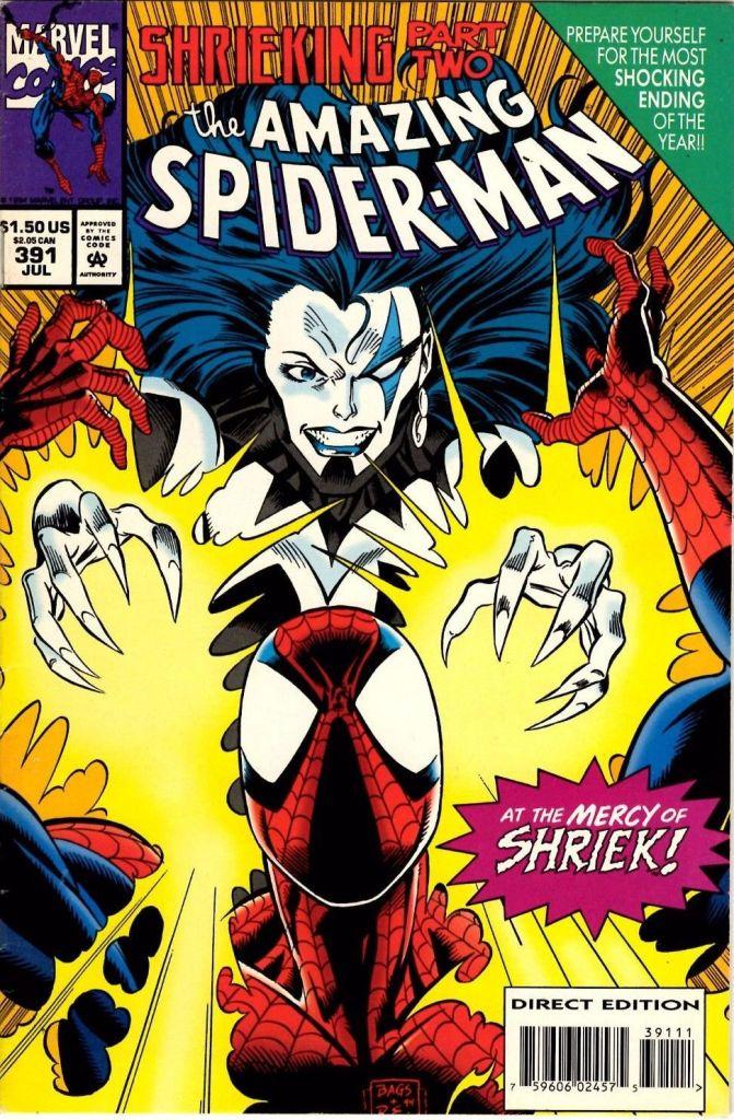 Venom Carnage Shriek Amazing Spider-Man Marvel