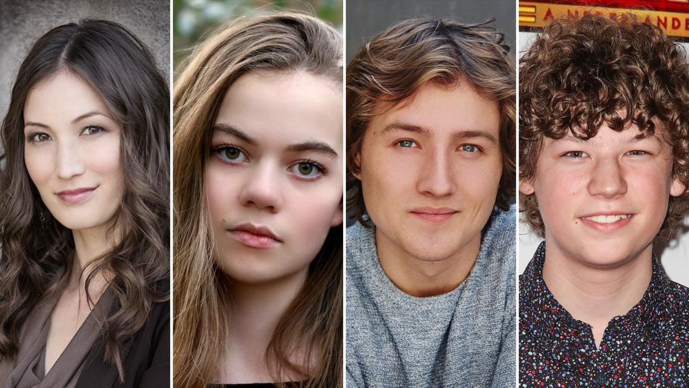 Jennifer Spence, Megan Charpentier, Alexander Grant, Van Crosby