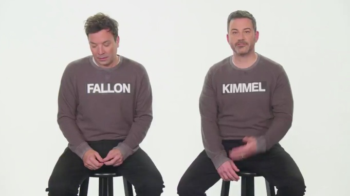 'Jimmy Kimmel Live': Fallon Makes 'Surprise'