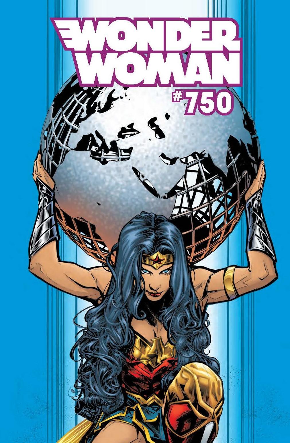 Wonder Woman 750 Catwoman artist dc comics Joelle jones