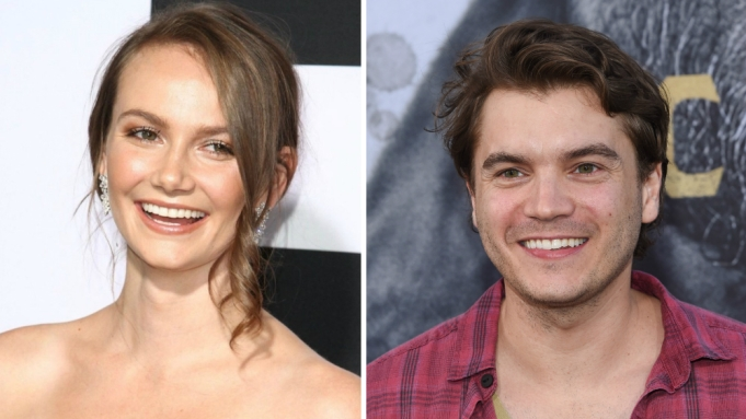Halloween 2020 Andi Matichak Halloween' Star Andi Matichak, Emile Hirsch Board Horror Movie