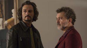 Antonio Banderas and Asier Etxeandia in 'Pain & Glory'