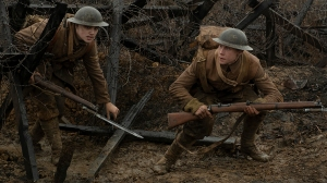 1917 - A war scene from the film. (Credit: Francois Duhamel/Universal)