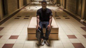 Director Jordan Peele behind the scenes of 'Us'