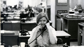 A still from 'Raise Hell: The Life & Times of Molly Ivins'