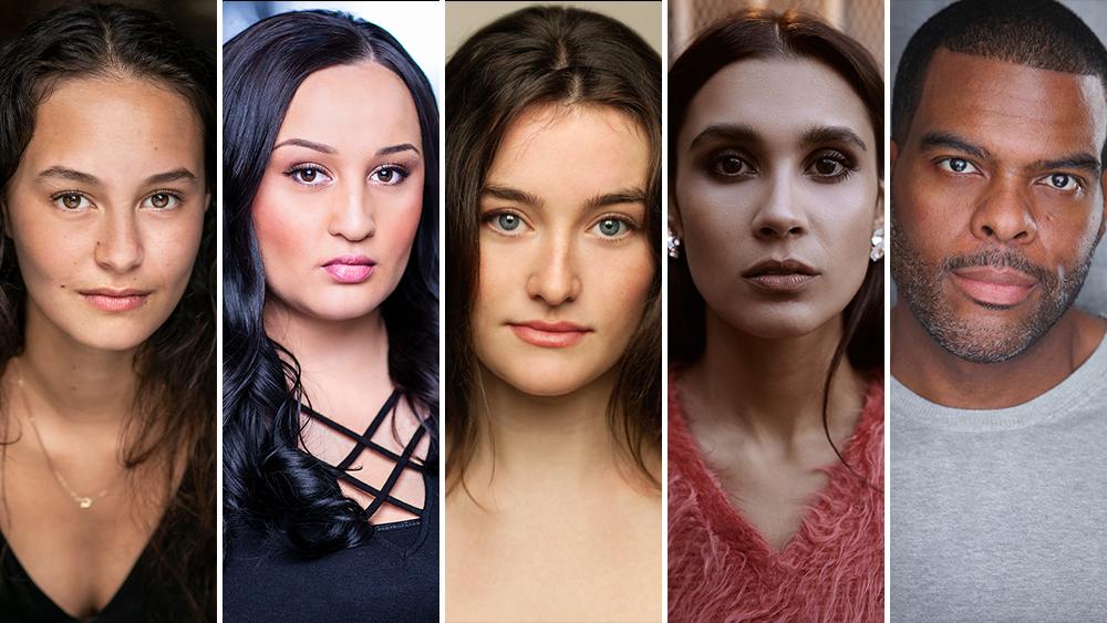 Erana James, Jenna Clause, Sarah Pidgeon, Sophia Ali, Troy Winbush