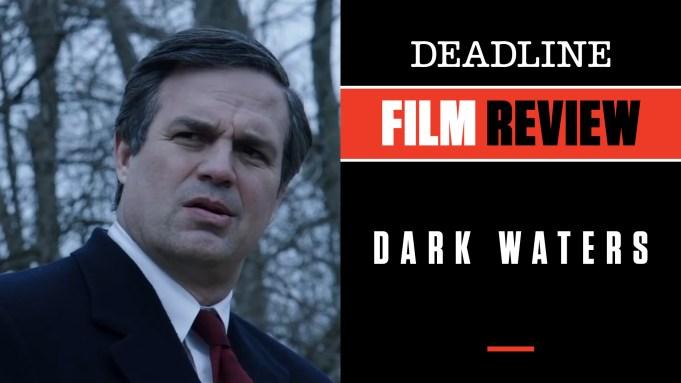 [WATCH] 'Dark Waters' Review: Mark Ruffalo