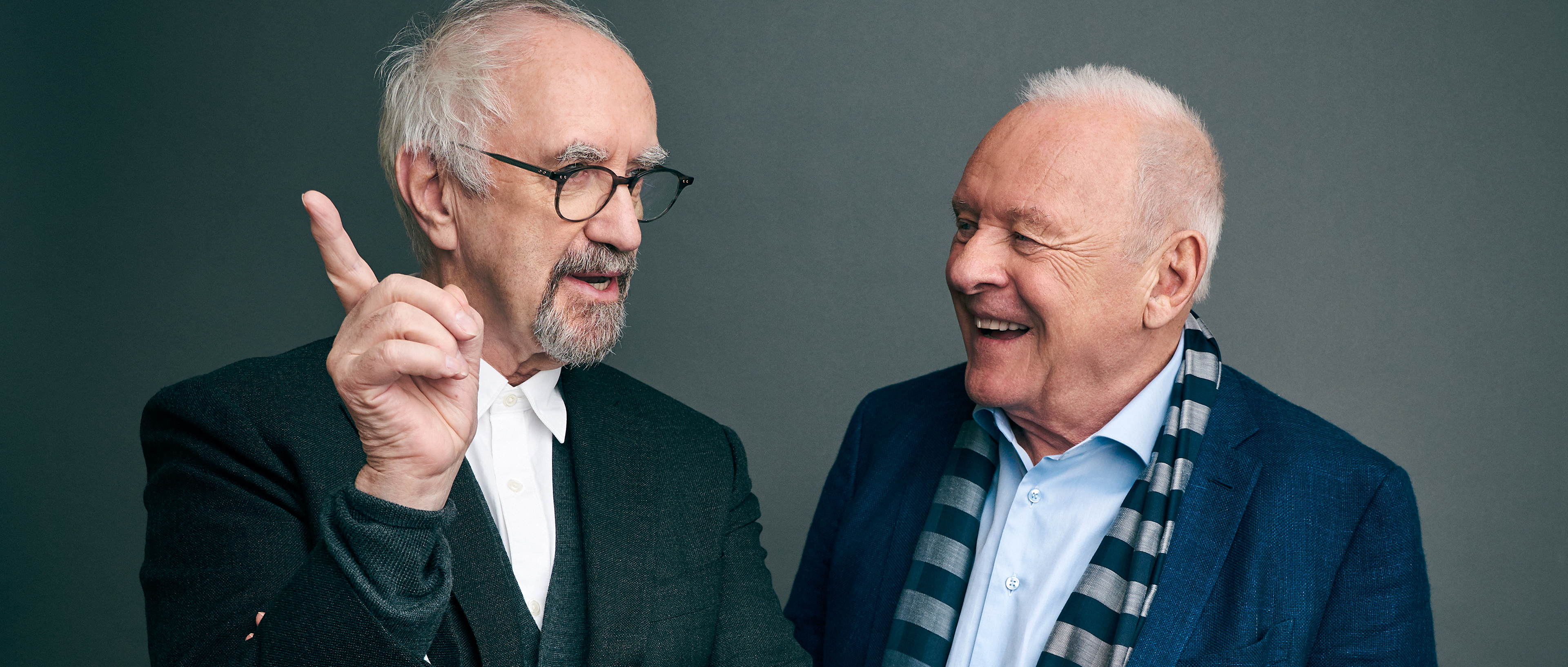 Jonathan Pryce Anthony Hopkins On The Two Popes Q A Deadline