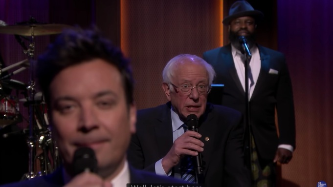 Jimmy Fallon Slow Jams For Bernie