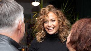 Jennifer Lopez at Hustlers screening