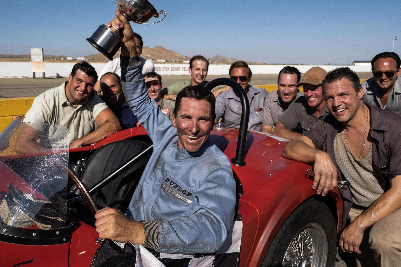 Christian Bale in 'Ford v Ferrari'