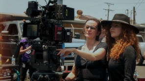 Director Alma Har'el and Natasha Braier