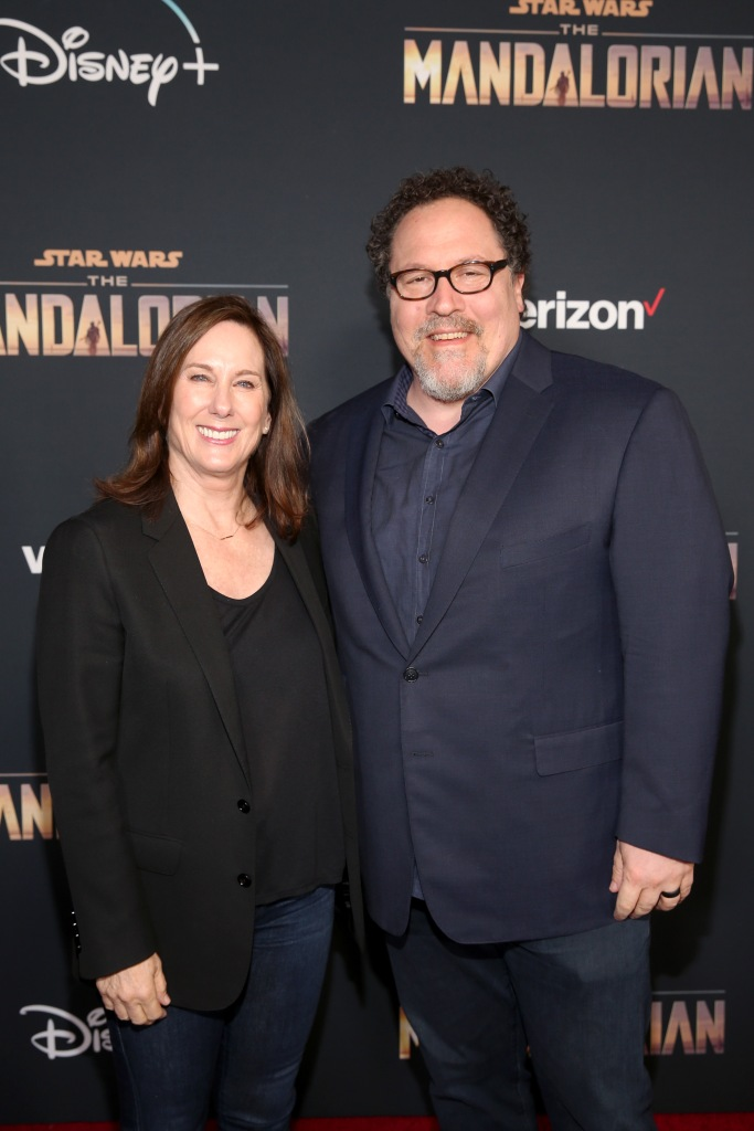 Star Wars mandalorian Disney + Jon Favreau Kathleen Kennedy