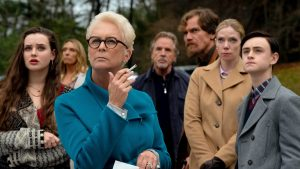 Jamie Lee Curtis, Toni Collette, Don Johnson and Michael Shannon in 'Knives Out'