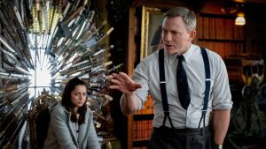 Ana de Armas and Daniel Craig in 'Knives Out'