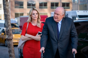 Charlize Theron & John Lithgow in Bombshell
