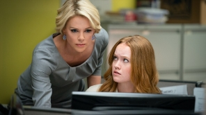 Charlize Theron and Liv Hewson in Bombshell