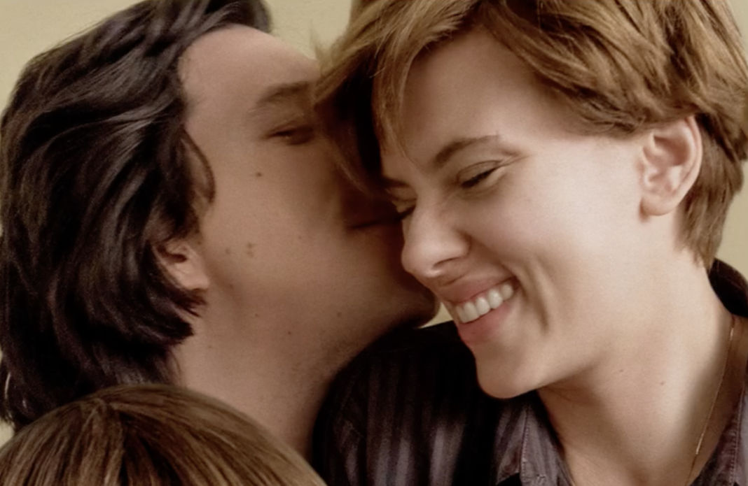 Adam Driver and Scarlett Johansson in 'Marriage Story'