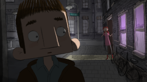 A still from animated short 'Mind My Mind'