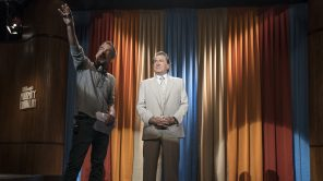 Todd Phillips and Robert De Niro behind the scenes of 'Joker'