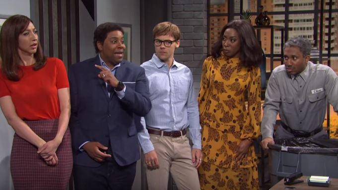 White Get Out SNL