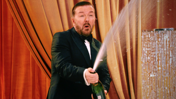 Golden Globe Awards Promo: Ricky Gervais