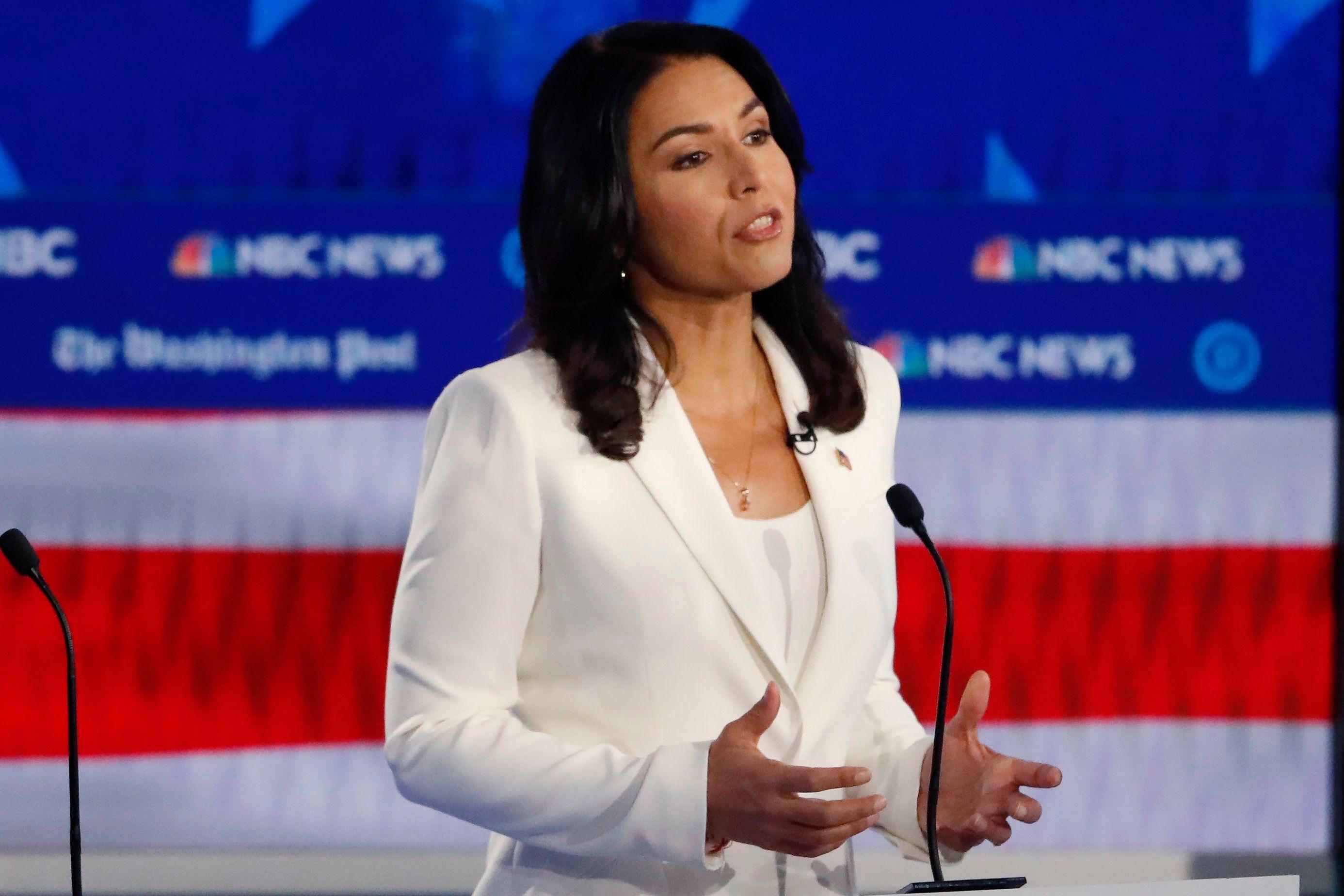 Tulsi Gabbard Tussles With Fellow Democrats Over Fox News Appearances Deadline