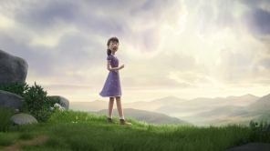 A still from Max Lang and Daniel Sanddon's animated short 'Zog'