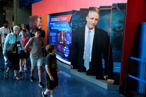 Newseum Exhibit 'Seriously Funny: From the Desk of 'The Daily Show with Jon Stewart' at the Newseum, Washington, USA - 20 Jun 2019