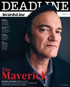 AwardsLine December 18 - Quentin Tarantino