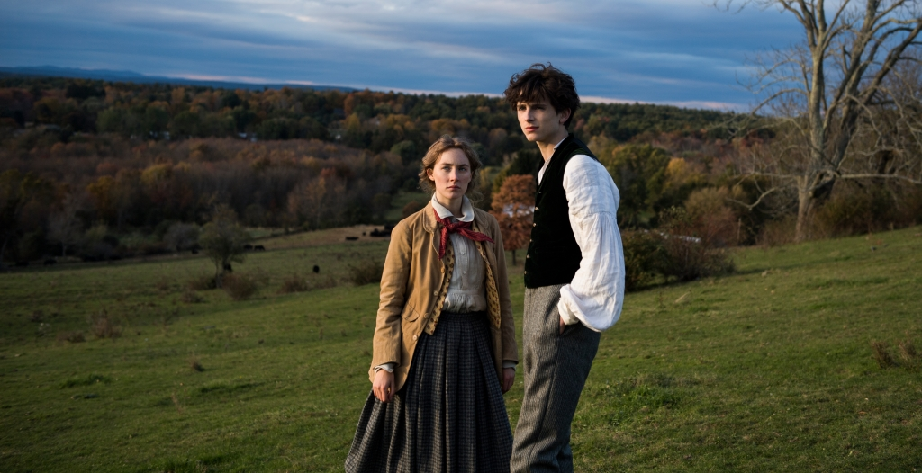 Saoirse Ronan and Timothée Chalamet in 'Little Women'