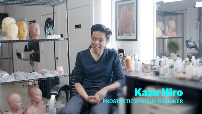 'Bombshell' prosthetic makeup designer Kazu Hiro