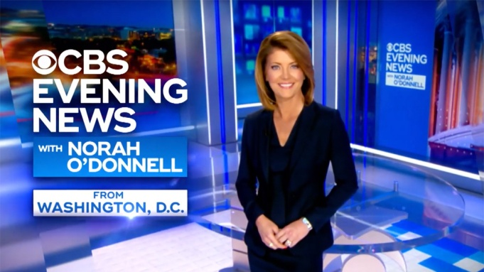 'CBS Evening News With Norah O'Donnell'