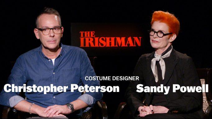 'The Irishman' costume designers Christopher Peterson
