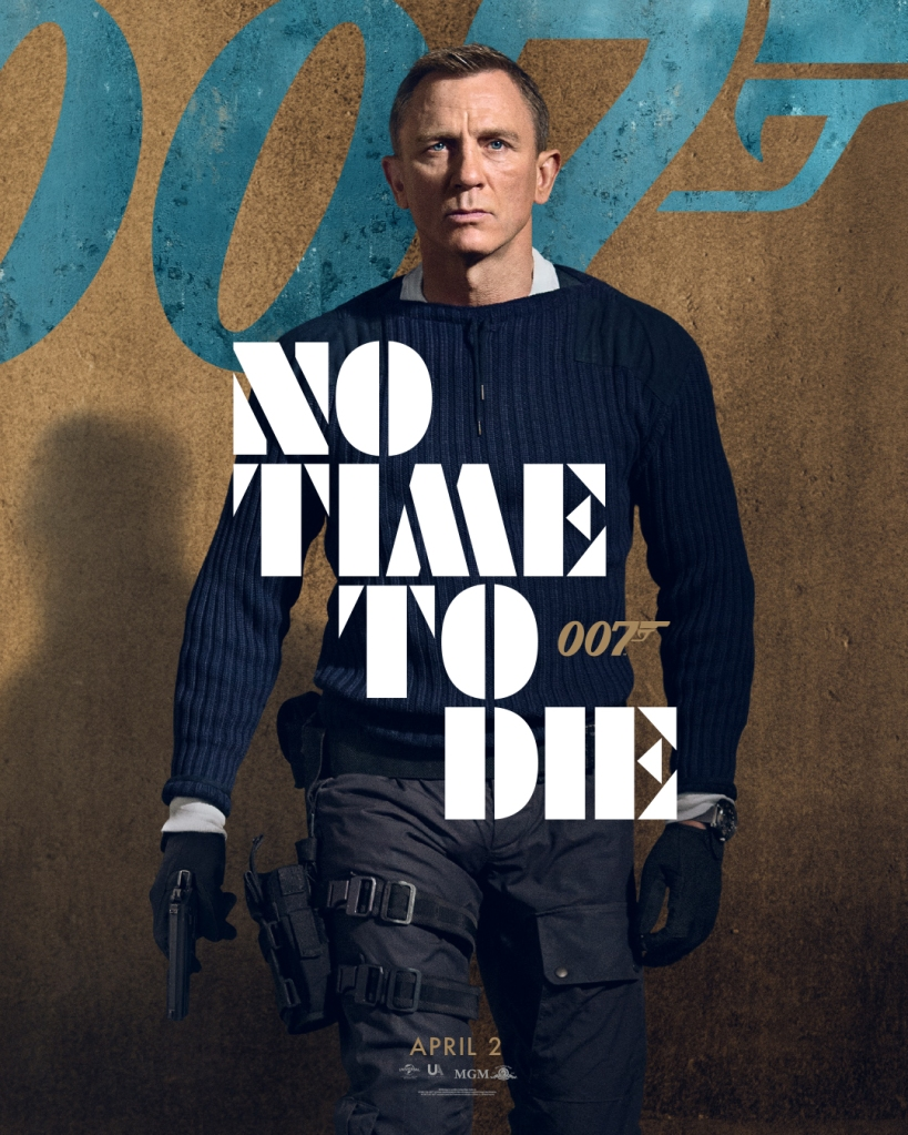 James Bond No Time To Die Azure Teaser Maxi Poster 61 x 91,5 cm
