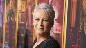 Jamie Lee Curtis attends 'Knives Out' film premiere at Regency Village Theatre, Los Angeles, USA - 14 Nov 2019