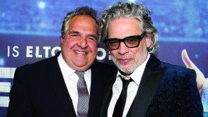 'Rocketman' director Dexter Fletcher with Paramount Pictures CEO Jim Gianopulos