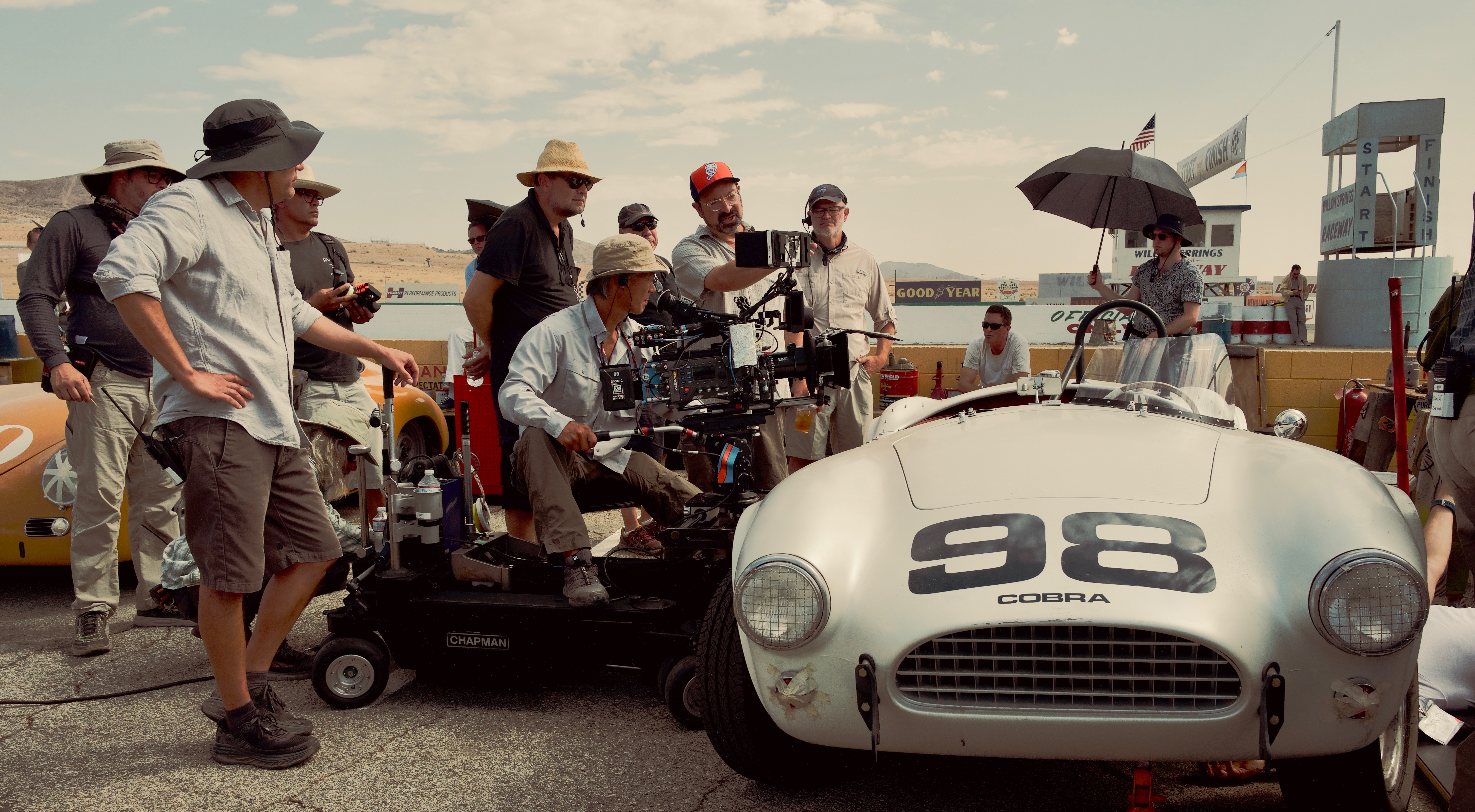 Behind the scenes of 'Ford v Ferrari'