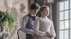 Timothée Chalamet and Florence Pugh in 'Little Women'