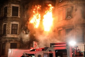 Motherless Brooklyn fire