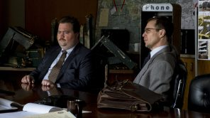 Paul Walter Hauser and Sam Rockwell in 'Richard Jewell'