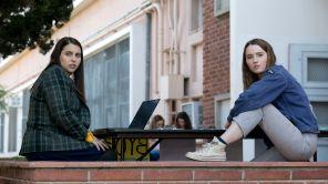 Kaitlyn Dever and Beanie Feldstein in 'Booksmart'