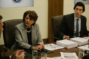 Annette Bening and Adam Driver in 'The Report'