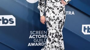 Mandatory Credit: Photo by David Fisher/Shutterstock (10525964ae) Christina Applegate 26th Annual Screen Actors Guild Awards, Arrivals, Fashion Highlights, Shrine Auditorium, Los Angeles, USA - 19 Jan 2020