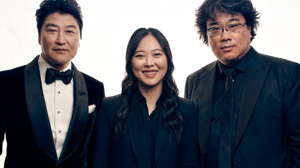Song Kang Ho, Sharon Choi, Bong Joon Ho