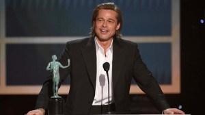 Brad Pitt. 26th Annual SAG Awards - Show, Los Angeles, USA - 19 Jan 2020