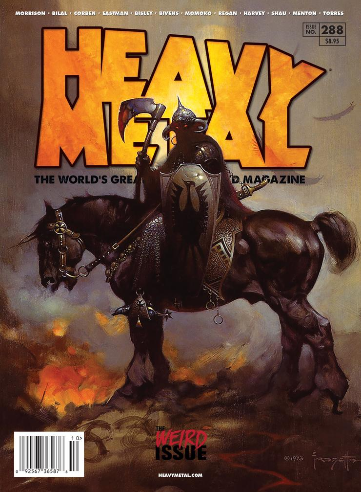 Heavy Metal Frazetta