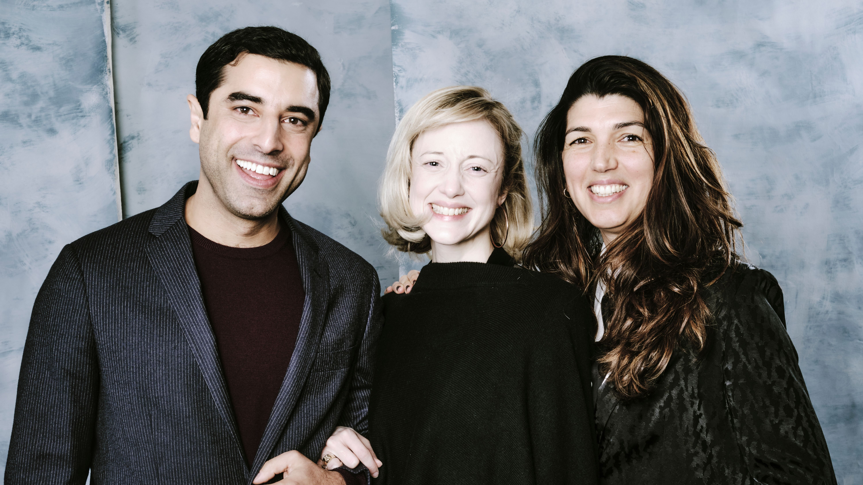 'Luxor' stars Karim Saleh and Andrea Riseborough with director Zeina Durra