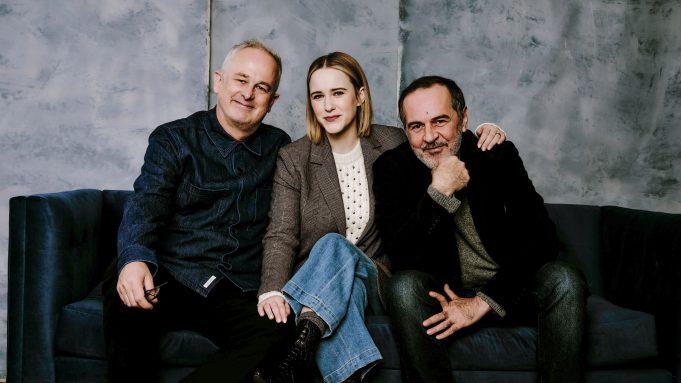 'Ironbark' director Dominic Cooke with stars